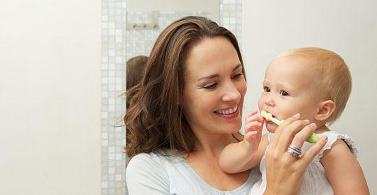Higiena jamy ustnej u noworodka i niemowlęcia